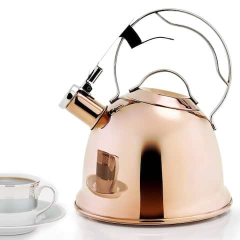 DuraCopper Oberon 2.2 Qt. / 2.1 L. Tea Kettle