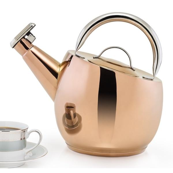 DuraCopper Ganymeade Tea Kettle, 2.75 Qt. /2.6 L.. Opens flyout.