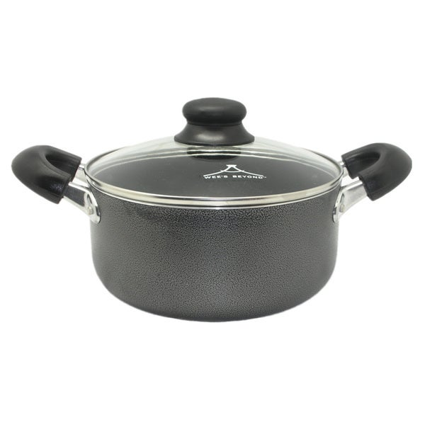 Shop Wee S Beyond Black Aluminum 10 Quart Non Stick Stock
