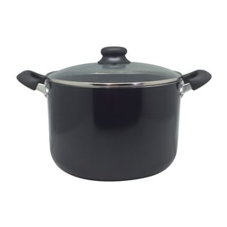 Deep Aluminum Alloy 8-quart Stock Pot