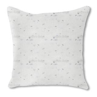 Dandelions Light Burlap Pillow Single Sided