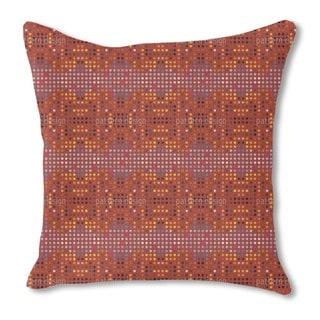 Australian Point System Burlap Pillow Single Sided