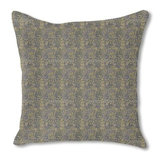Twilight in the Garden of Eden Burlap Pillow Single Sided
