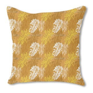 The Bark Beetle Way Burlap Pillow Double Sided