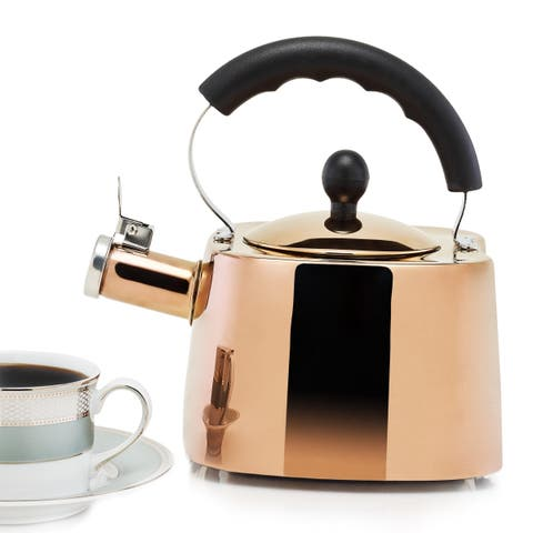 DuraCopper Europa 1.7 Qt. /1.6 L. Tea Kettle