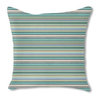 Ethnic Influence Burlap Pillow Double Sided