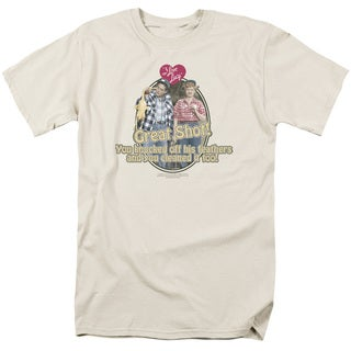 Lucy/Great Shot Short Sleeve Adult T-Shirt 18/1 in Cream