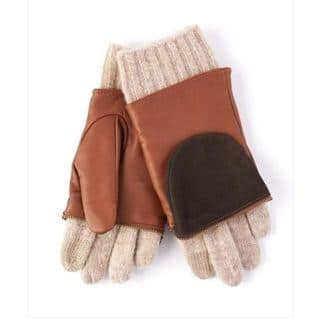 Echo Design Womens Leather and Wool Colorblock Saddle Brown Glitten Gloves|https://ak1.ostkcdn.com/images/products/12663610/P19450992.jpg?impolicy=medium
