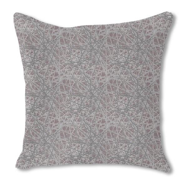 Thorn Bush Burlap Pillow Single Sided