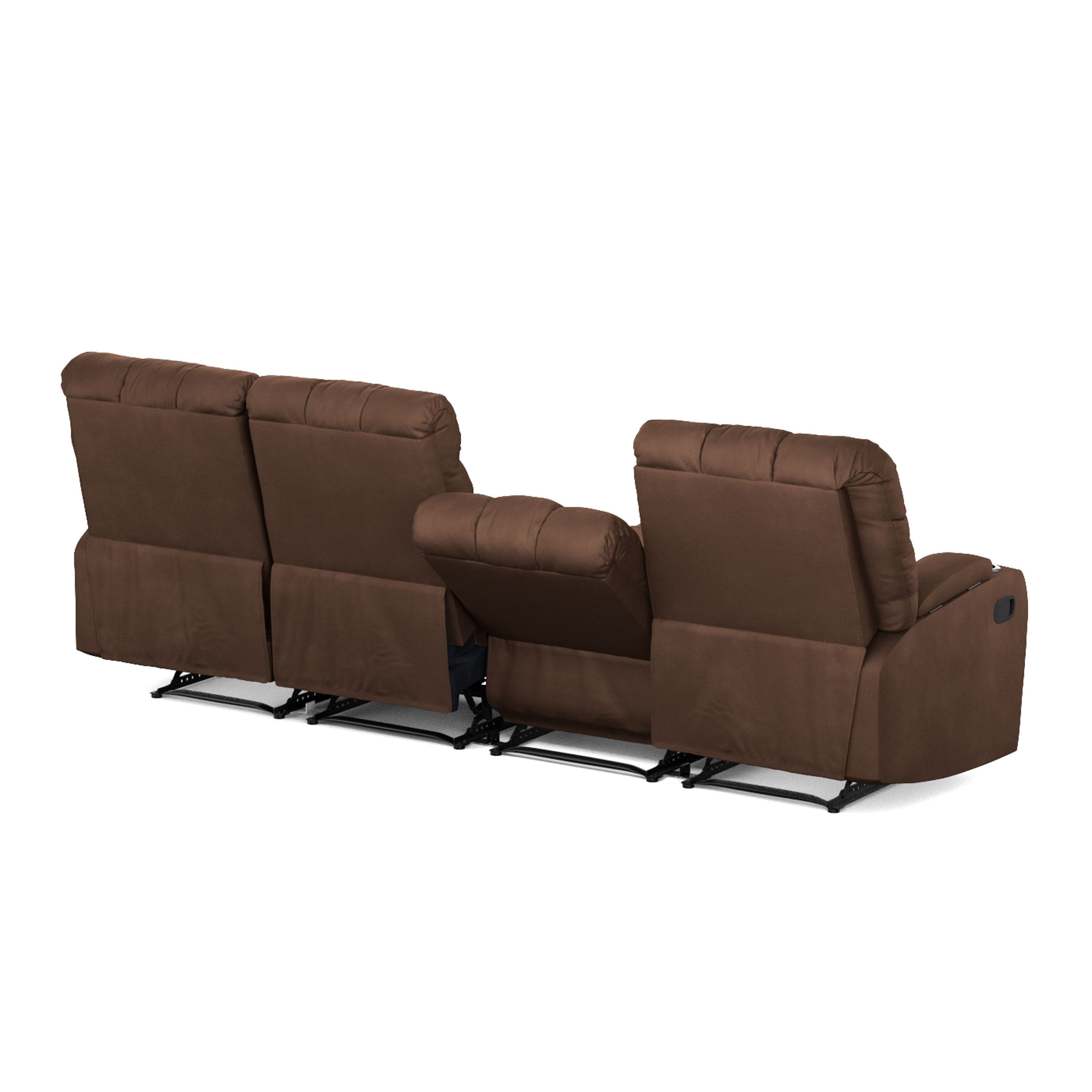 4 Seat Leather Reclining Sofa Lennox 4 Seat Reclining Sofa