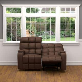 ProLounger Brown Microfiber Storage 2 Seat Reclining Loveseat (Option: Loveseat)|https://ak1.ostkcdn.com/images/products/12663630/P19451220.jpg?impolicy=medium