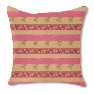 Fields of Love Burlap Pillow Double Sided