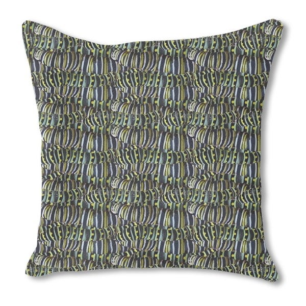 Very Hungry Caterpillars Burlap Pillow Double Sided