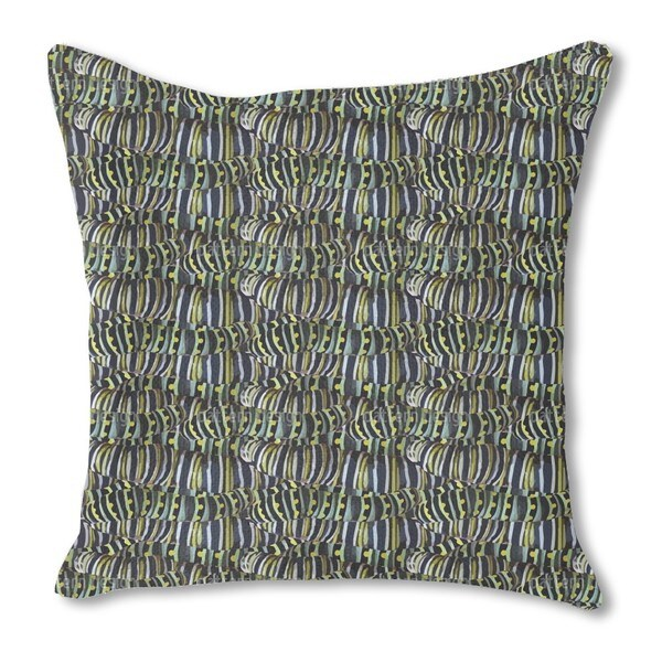 Very Hungry Caterpillars Burlap Pillow Single Sided
