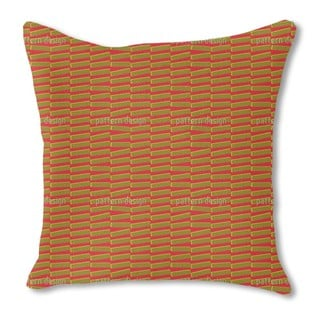 Interference Burlap Pillow Double Sided