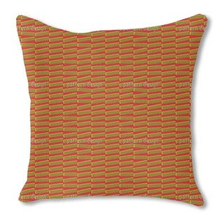 Interference Burlap Pillow Single Sided