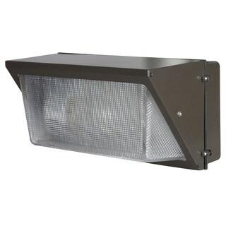 Bronze Aluminum 1-light Wall Pack