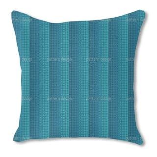 Wave Ocean Burlap Pillow Single Sided