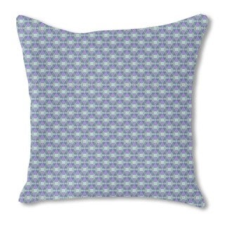 Hexagonia on the Trapeze Burlap Pillow Single Sided
