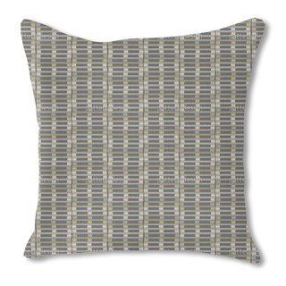 Stacked Pallets Burlap Pillow Single Sided