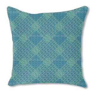Space Oddity Burlap Pillow Single Sided