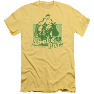 Lucy/Above Par Short Sleeve Adult T-Shirt 30/1 in Banana