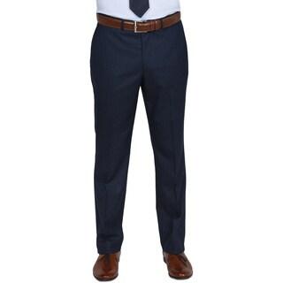 Kenneth Cole Reaction Blue Windowpane Suit Pants (Option: 34x32)