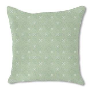Spatial Coordinates Burlap Pillow Double Sided