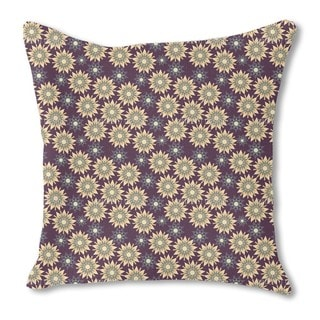 Star Formation at Night Burlap Pillow Double Sided
