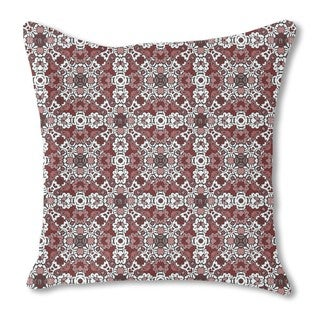 Growing and Blooming Burlap Pillow Single Sided
