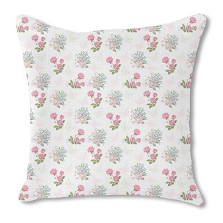 My Dream Garden Burlap Pillow Single Sided