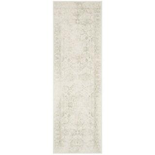 "Safavieh Adirondack Vintage Distressed Ivory / Sage Runner - 2'6"" x 10'"