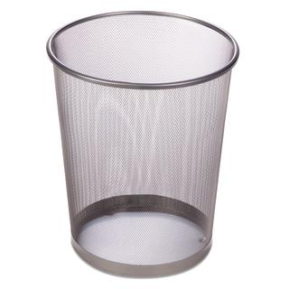 "Honey Can Do TRS-02101 11.5"" X 14"" Silver Wire Mesh Waste Bin"