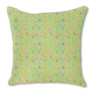 Papageno Paradise Burlap Pillow Single Sided
