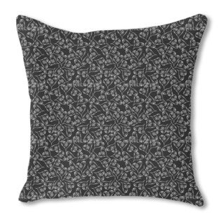 A Heart For Flowers Burlap Pillow Single Sided