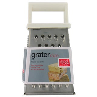 "Good Cook 15599 7"" Stainless Steel Box Grater"