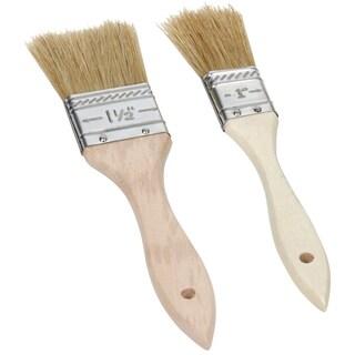 Ekco 1094928 2 Piece Assorted Wood Basting Brush Set