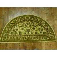 Safavieh Handmade Antiquity Gold Wool Runner Rug - 2' 6 x 5'