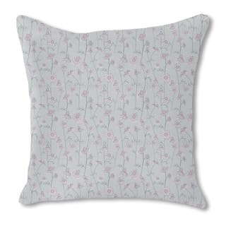 Chamomile at Dawn Burlap Pillow Double Sided