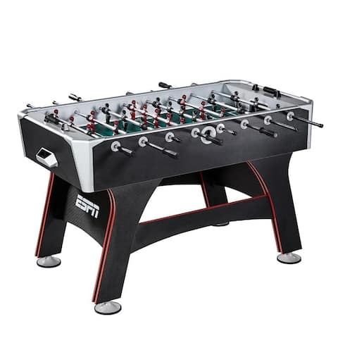 ESPN Multicolored Wooden 56-inch Foosball Table