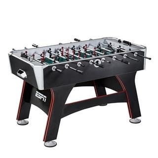 ESPN Multicolored Wooden 56-inch Foosball Table