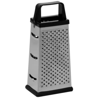 Ekco 1094875 Small Silver & Black Box Cheese Grater