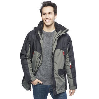 IZOD Men's 3-in-1 Active Colorblock Systems Jacket