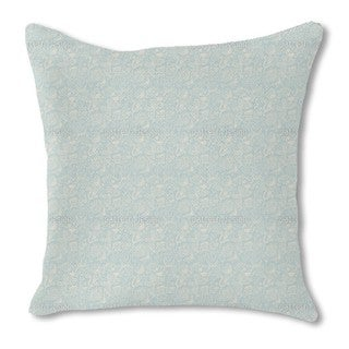 Winter Garden Nostalgia Burlap Pillow Double Sided