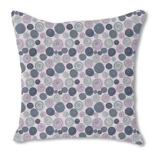 Buttercup Blossoms Burlap Pillow Single Sided
