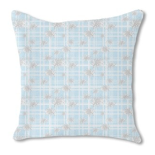 Edelweiss Burlap Pillow Double Sided