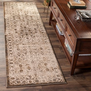 Safavieh Brilliance Vintage Cream/ Bronze Distressed Runner Rug (2' 2 x 8')