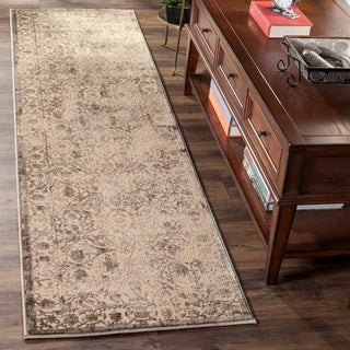 Safavieh Brilliance Vintage Cream/ Grey Distressed Runner Rug (2' 2 x 8')