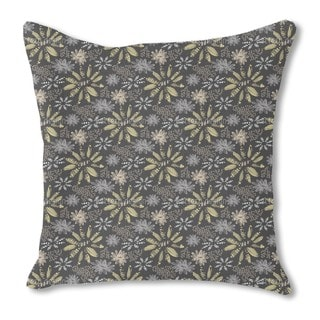 Nula Nero Burlap Pillow Single Sided
