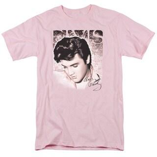 Elvishort Sleevetar Light Short Sleeve Adult T-Shirt 18/1 in Pink